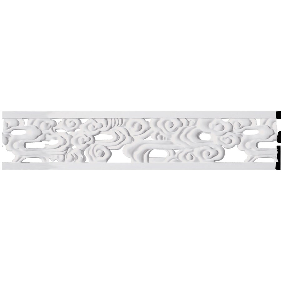 Ekena Millwork Flower 7-in x 7.88-ft Polyurethane Connector Wall Panel Moulding