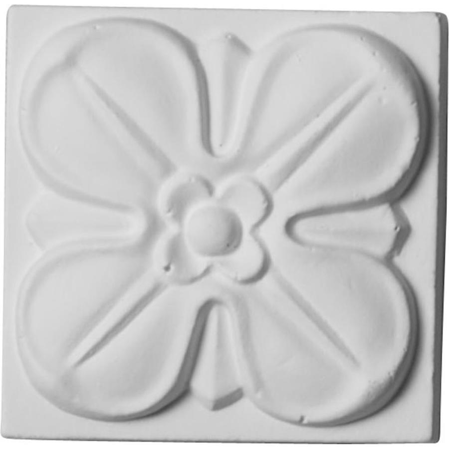 Ekena Millwork Flower Polyurethane Rosette