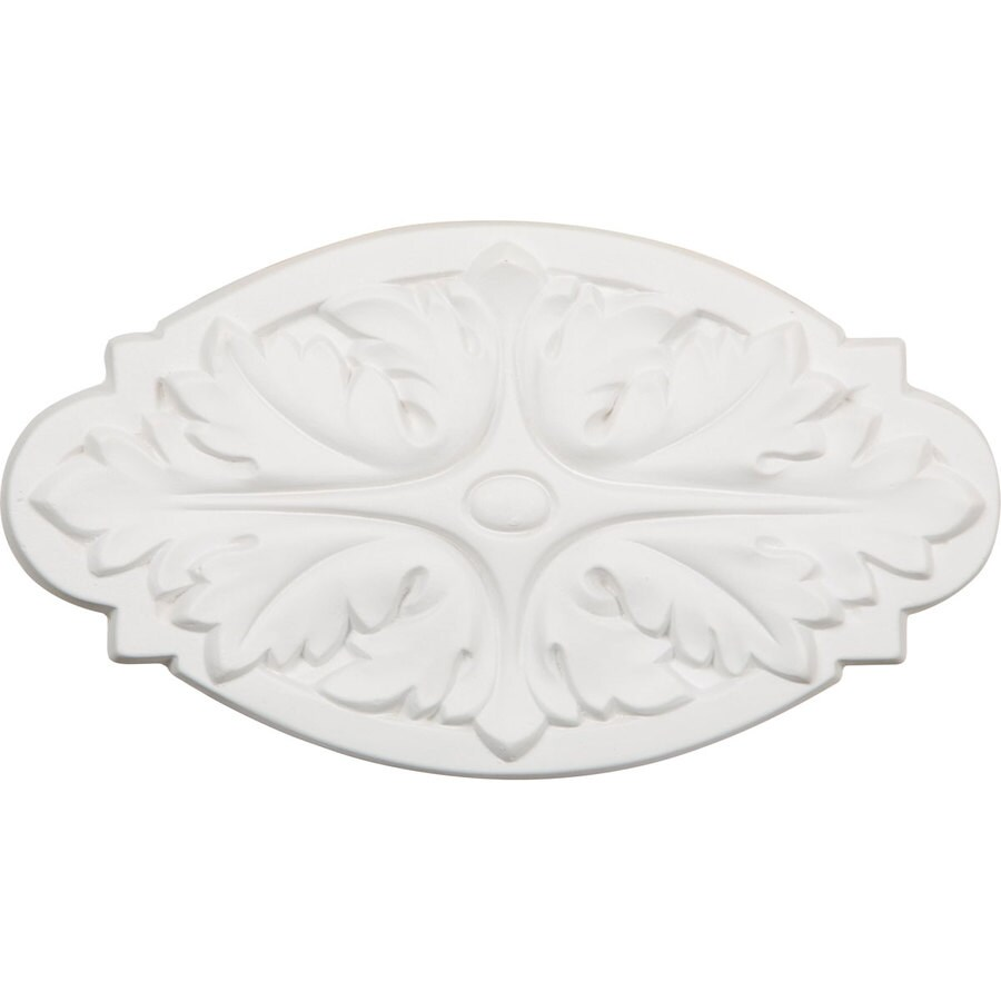 Ekena Millwork 8.625-in x 4.875-in Oxford Urethane Applique