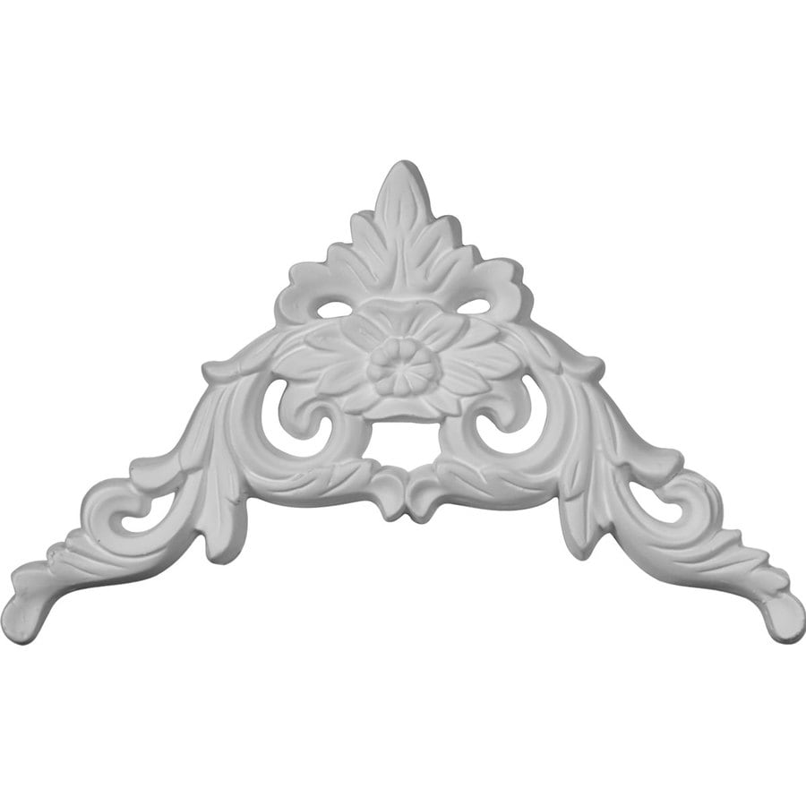 Ekena Millwork 9.25-in x 5.5-in Primed Urethane Applique