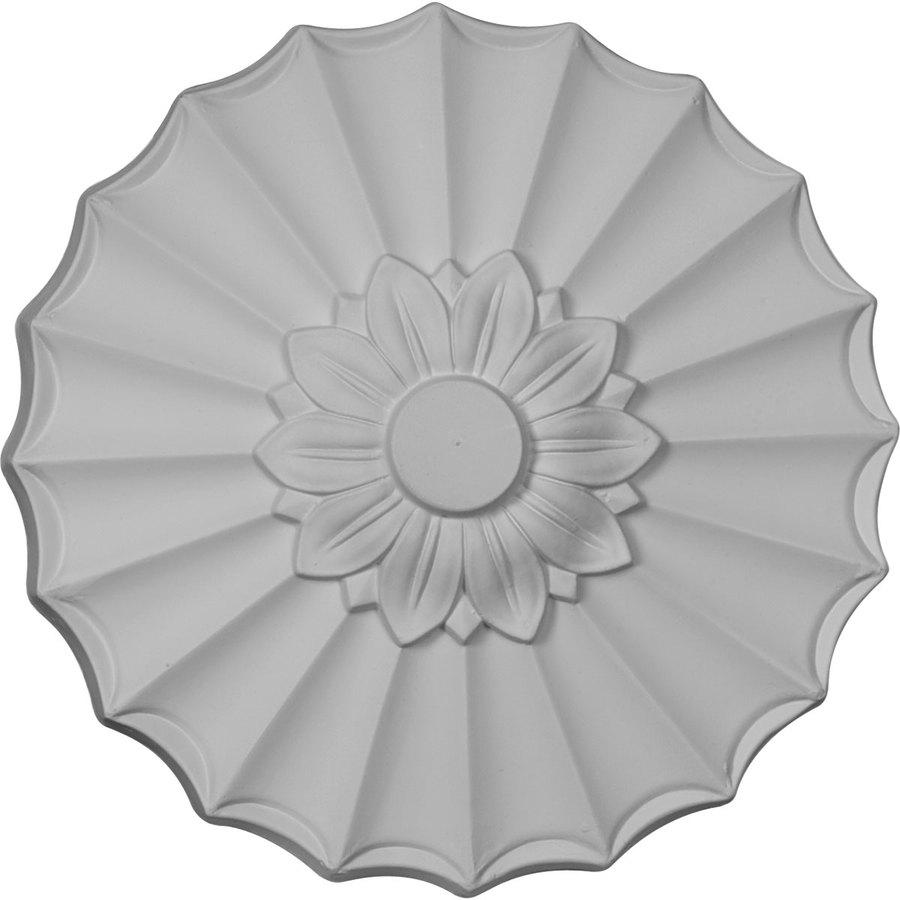 Ekena Millwork Shakuras 9-in x 9-in Polyurethane Ceiling Medallion