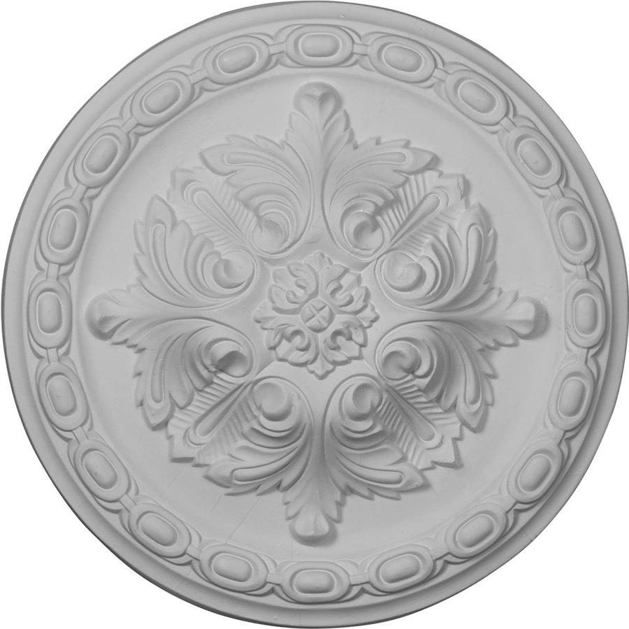 Ekena Millwork Acanthus 11.375-in x 11.375-in Polyurethane Ceiling Medallion
