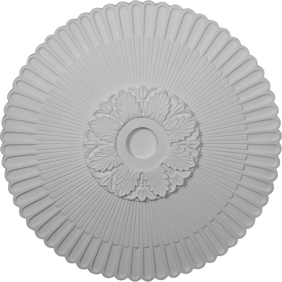 Ekena Millwork Melonie 36.25-in x 36.25-in Polyurethane Ceiling Medallion