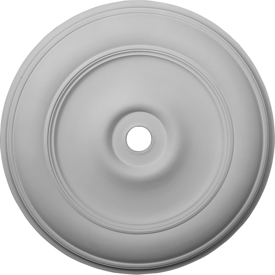 Ekena Millwork Classic 44.5-in x 44.5-in Polyurethane Ceiling ...