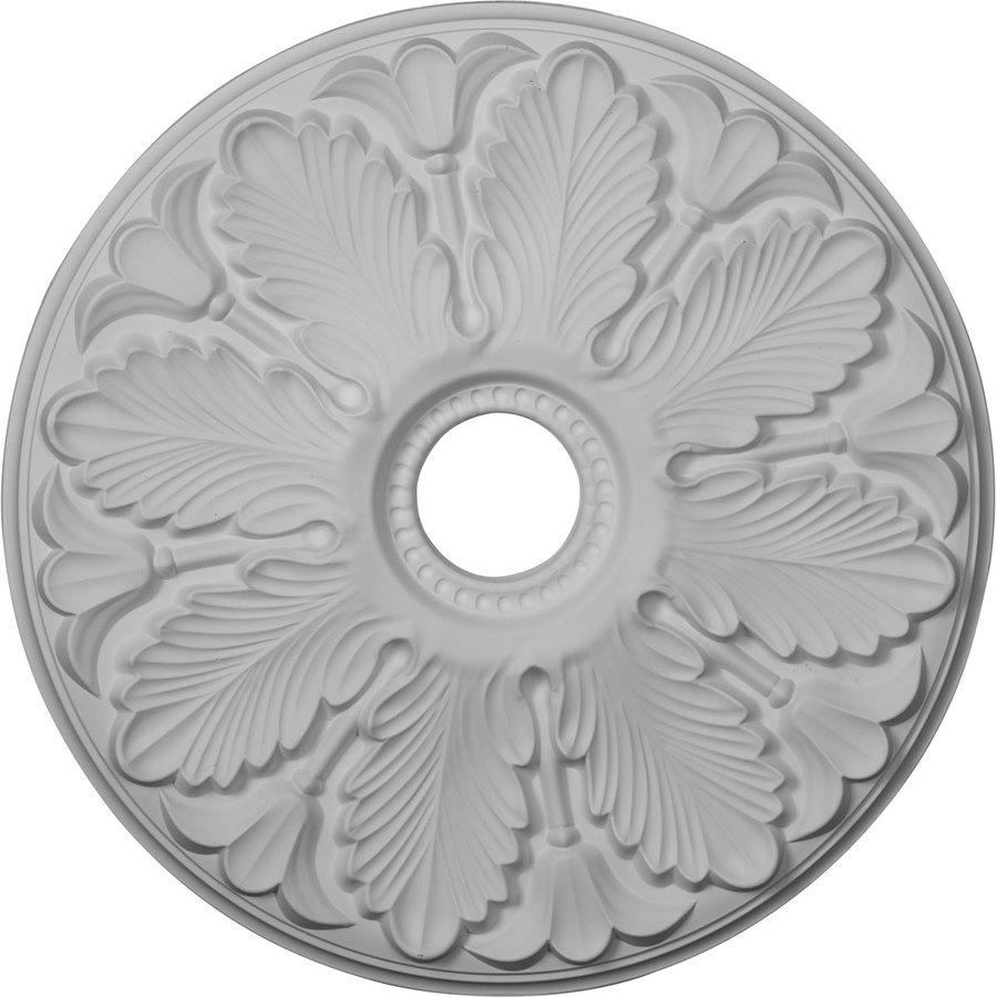 Ekena Millwork Milan 24.5-in x 24.5-in Polyurethane Ceiling Medallion