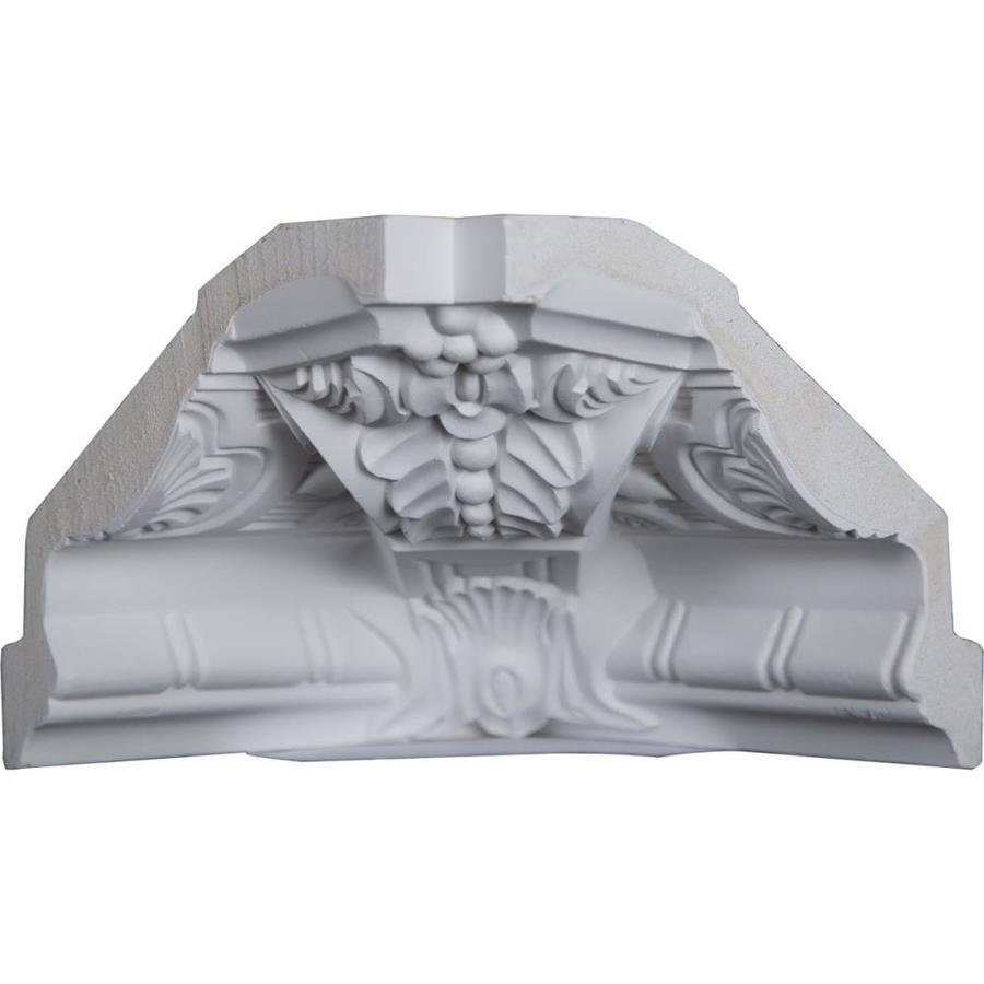 Ekena Millwork 6.25-in x 6.25-in Polyurethane Inside Corner Crown Moulding Block