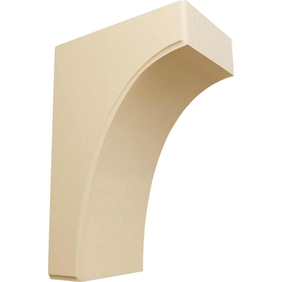 Ekena Millwork 5.25-in x 12-in Maple Clarksville Wood Corbel