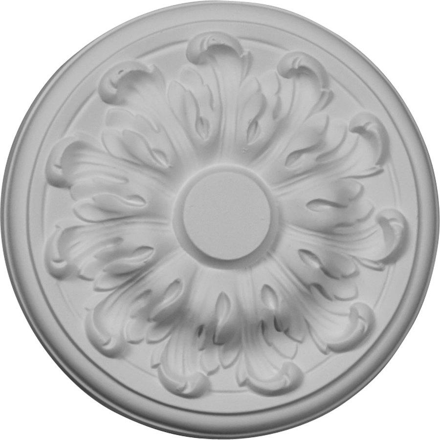 Ekena Millwork Millin 7.875-in x 7.875-in Polyurethane Ceiling Medallion