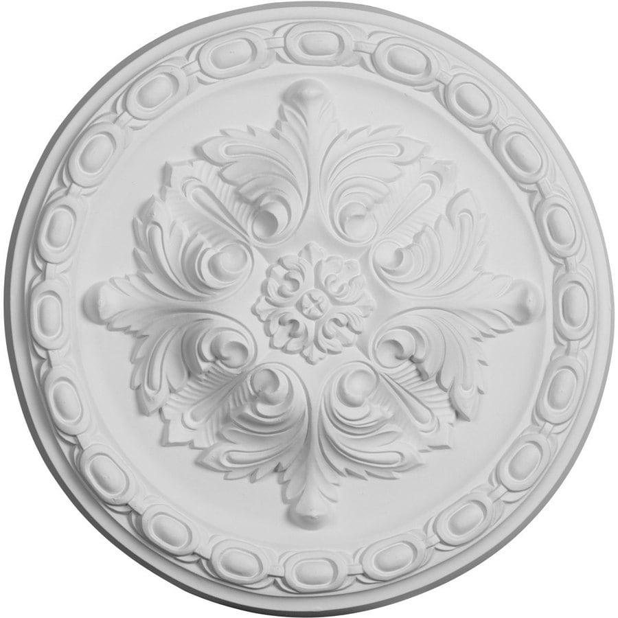 Ekena Millwork Stockport 11.75-in x 11.75-in Polyurethane Ceiling Medallion