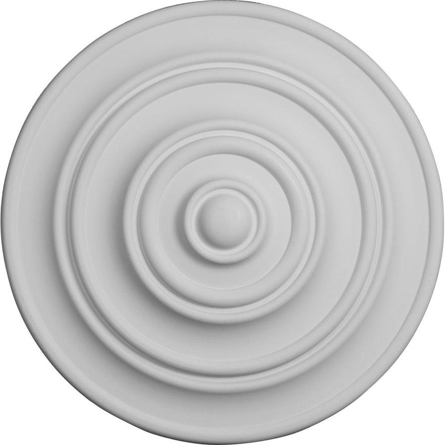 Ekena Millwork Classic 13.25-in x 13.25-in Polyurethane Ceiling Medallion