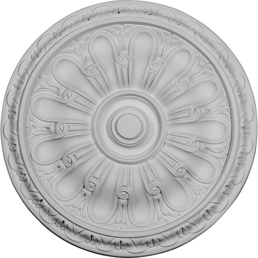 Ekena Millwork Kirke 15.75-in x 15.75-in Polyurethane Ceiling Medallion
