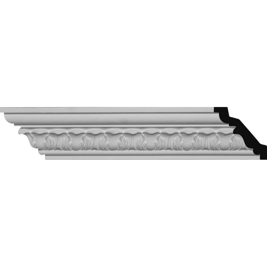 Ekena Millwork 2.5-in x 8.01-ft Polyurethane Whitman Crown Moulding