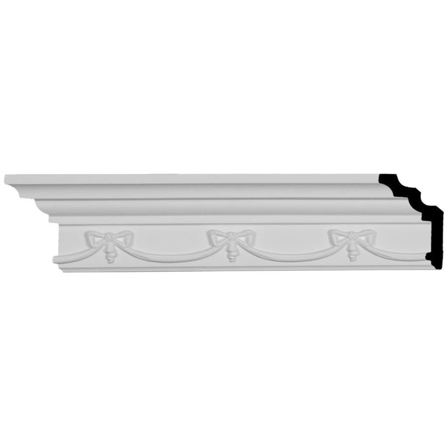 Ekena Millwork 4.25-in x 8.02-ft Polyurethane Versailles Crown Moulding