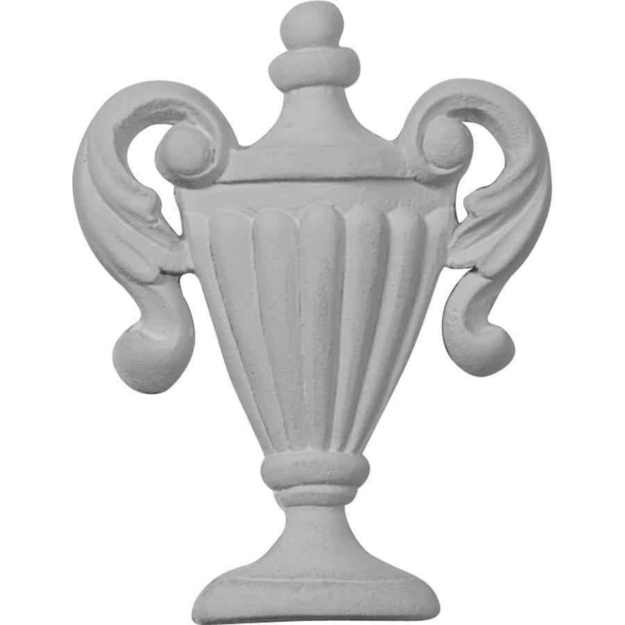 Ekena Millwork 2.5-in x 3.25-in Federal Urethane Applique