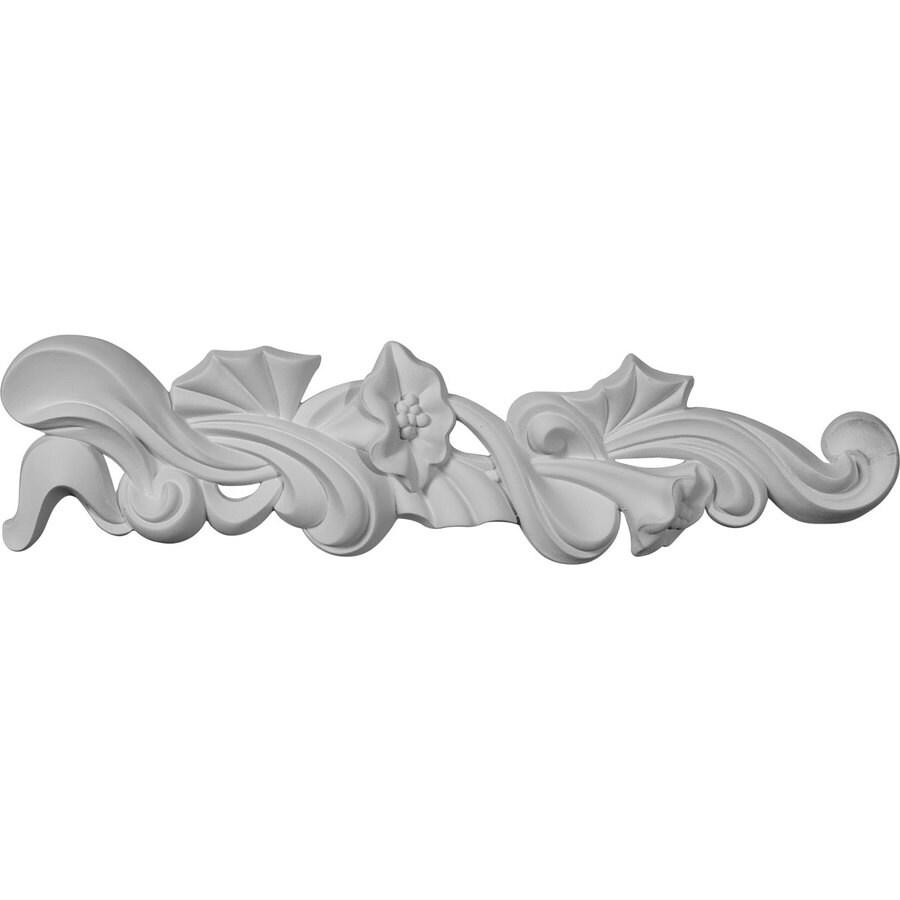 Ekena Millwork 3.125-in x 13.125-in Primed Urethane Applique