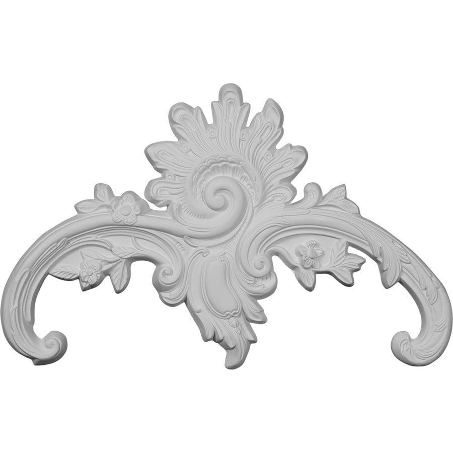 Ekena Millwork 10.625-in x 10.625-in Genevieve Urethane Applique