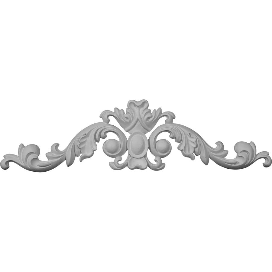 Ekena Millwork 11.75-in x 3.125-in Primed Urethane Applique