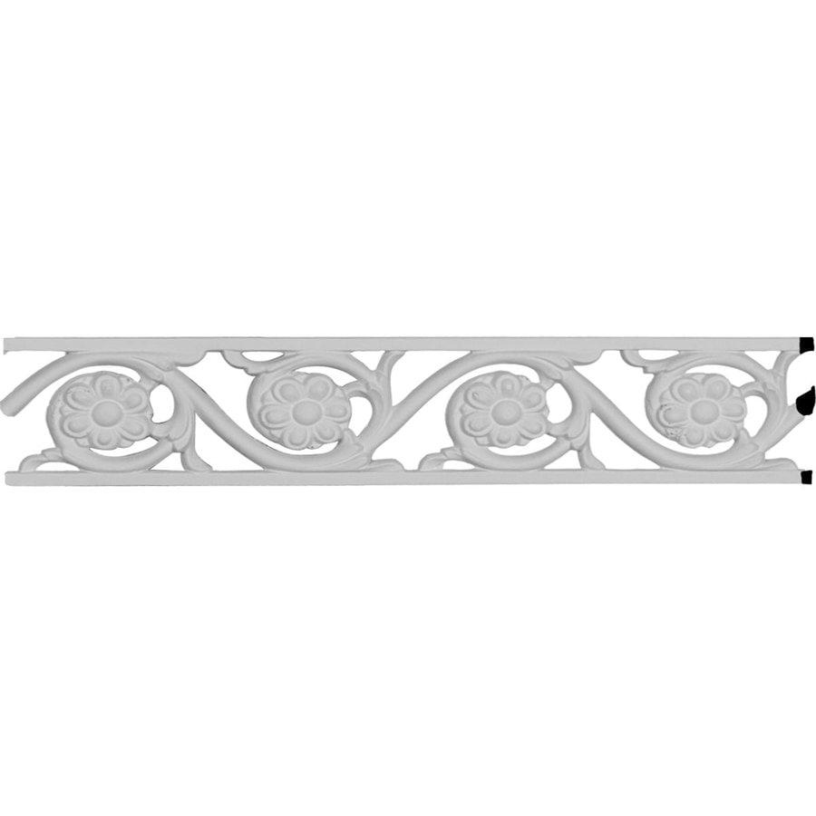 Ekena Millwork Delfina 2.125-in x 6.58-ft Primed Polyurethane Connector Wall Panel Moulding