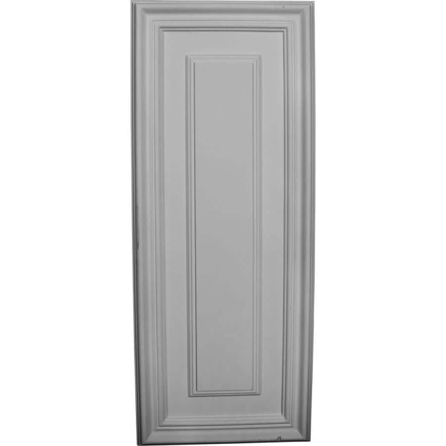 Ekena Millwork Legacy 21.625-in x 0.718-ft Smooth Primed Polyurethane Wainscoting Wall Panel