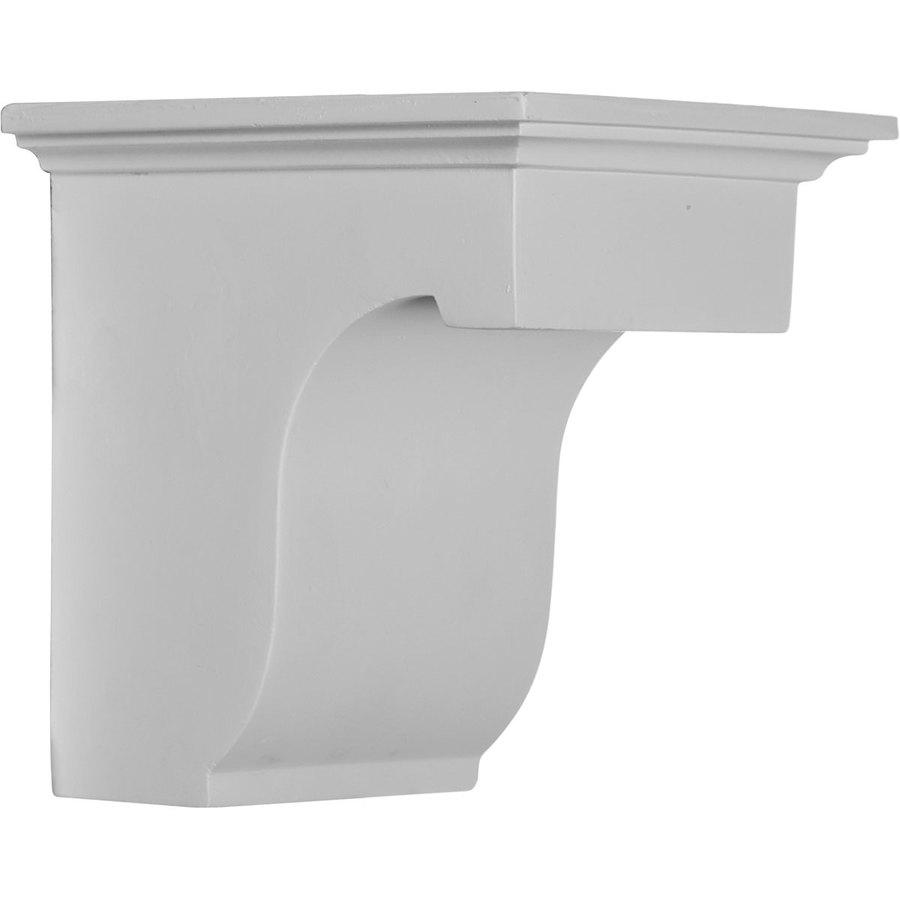 Ekena Millwork 4.875-in x 6-in White Legacy Urethane Corbel