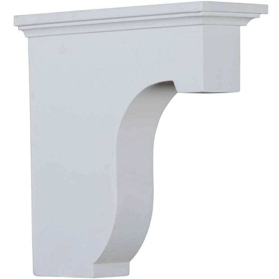 Shop Ekena Millwork X 8 In White Urethane Corbel At