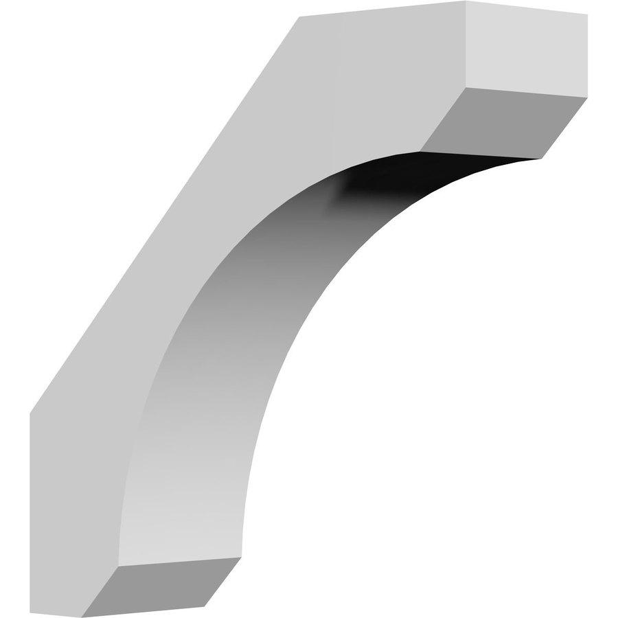 Ekena Millwork 3-in x 10-in White Legacy Urethane Corbel