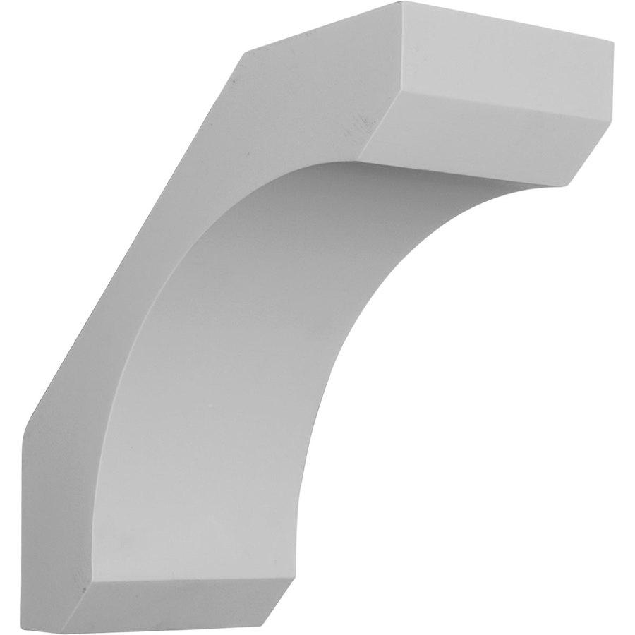 Ekena Millwork 5.5-in x 12-in White Legacy Urethane Corbel