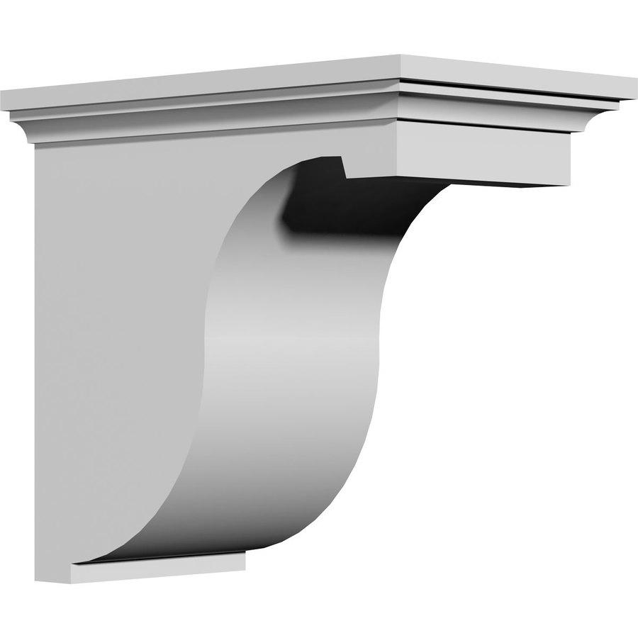 Ekena Millwork 6.875-in x 12-in White Primed Urethane Corbel