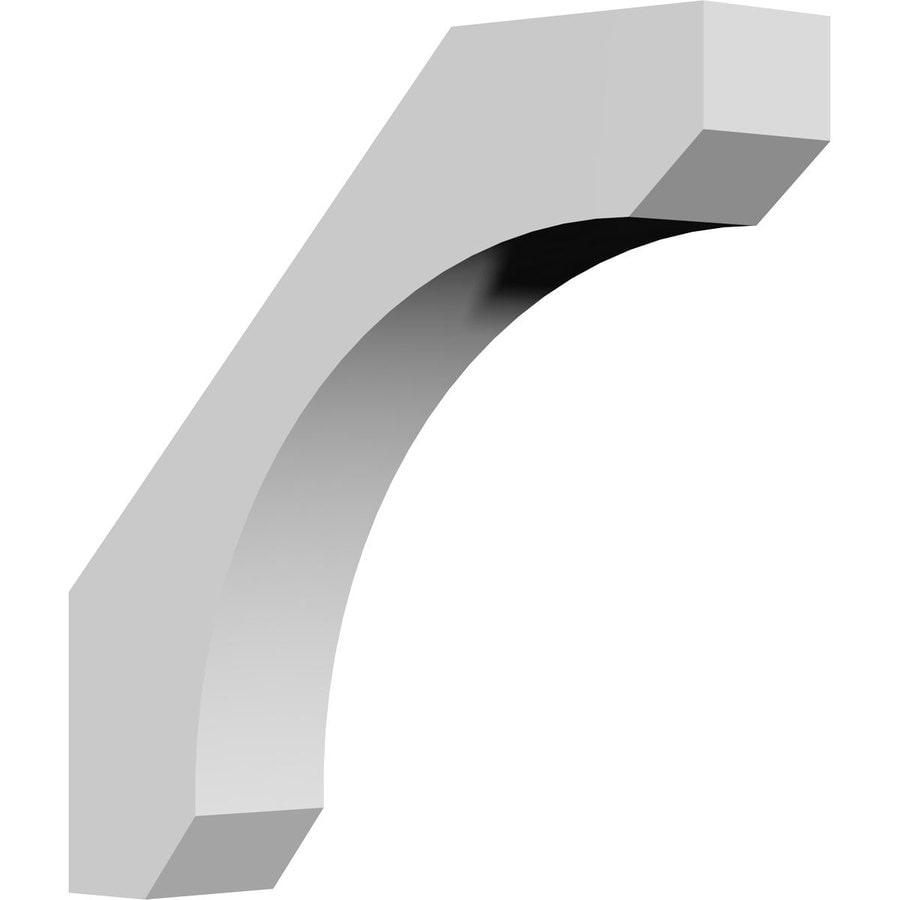Ekena Millwork 3.5-in x 14-in White Legacy Urethane Corbel