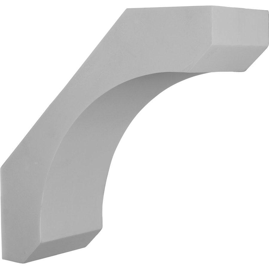Ekena Millwork 5.5-in x 14-in White Legacy Primed Urethane Corbel