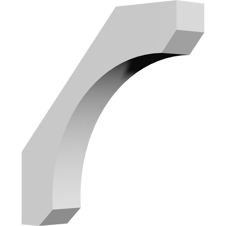 Ekena Millwork 3.5-in x 16-in White Legacy Urethane Corbel