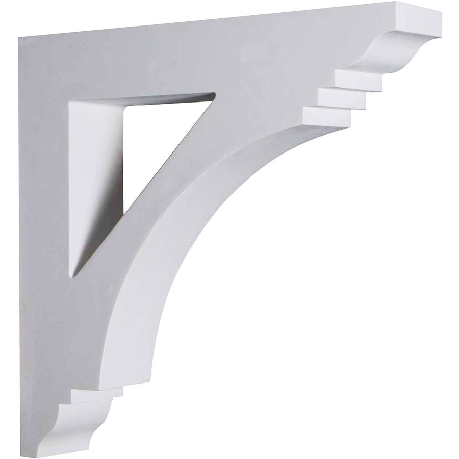 Ekena Millwork 4-in x 20-in White Imperial Urethane Corbel