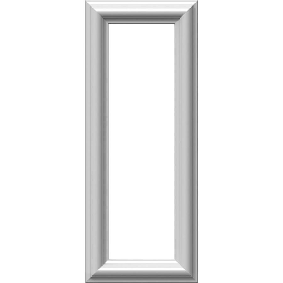 Ekena Millwork Ashford 8-in x 1.67-ft Polyurethane Preassembled Picture Frame Moulding