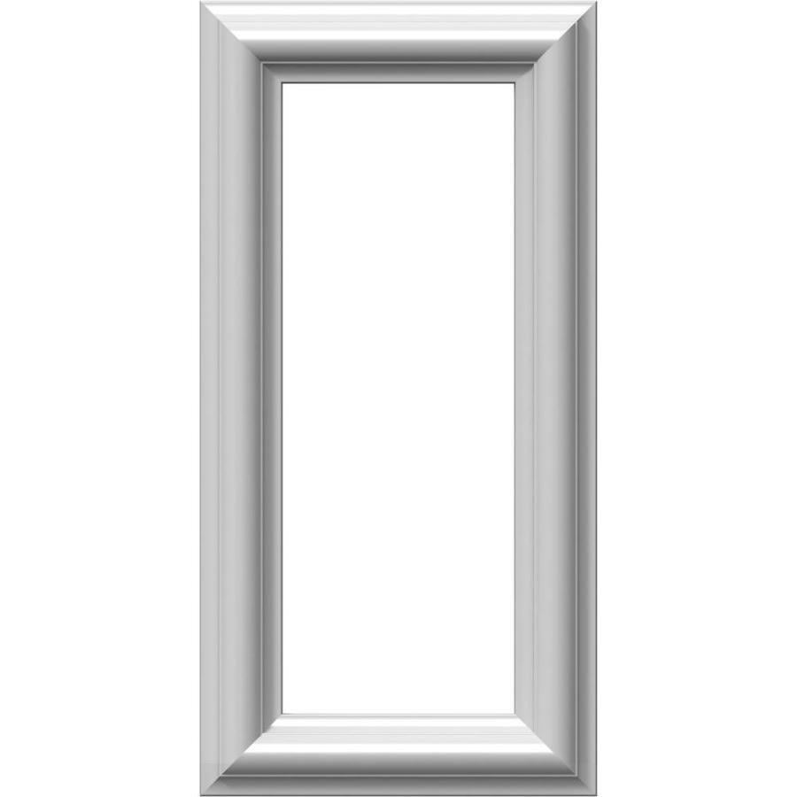 Ekena Millwork Ashford 8-in x 1.33-ft Polyurethane Preassembled Picture Frame Moulding