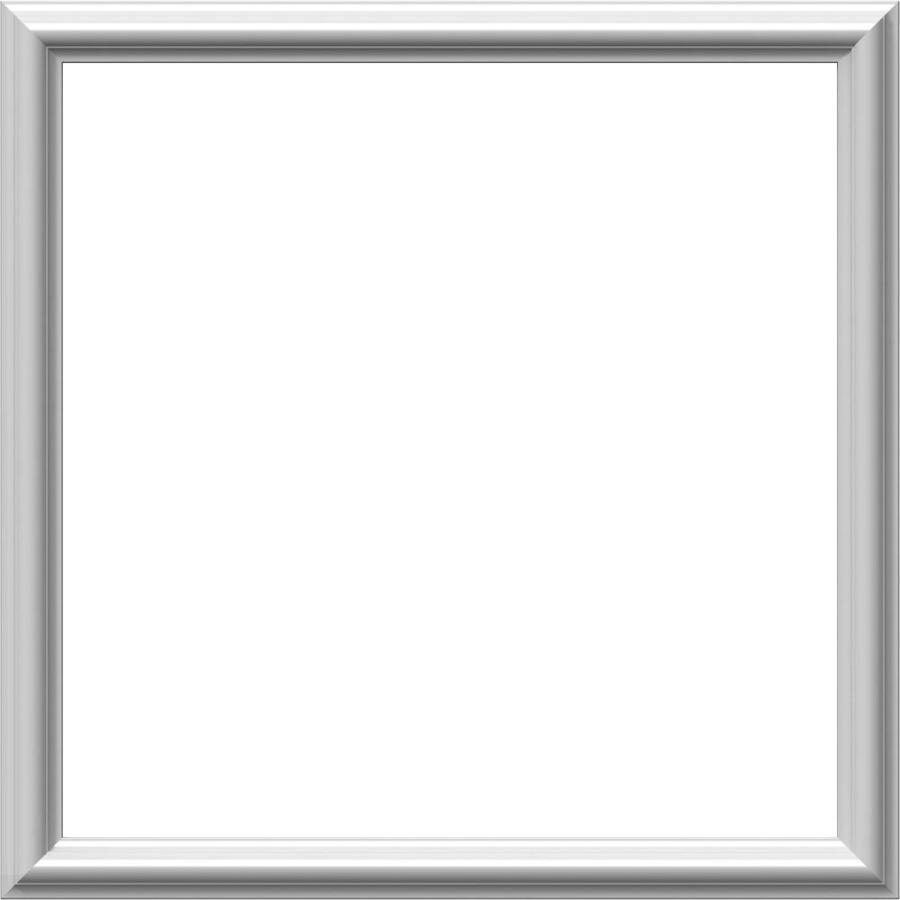 Ekena Millwork Ashford 24-in x 2-ft Primed Polyurethane Preassembled Picture Frame Moulding
