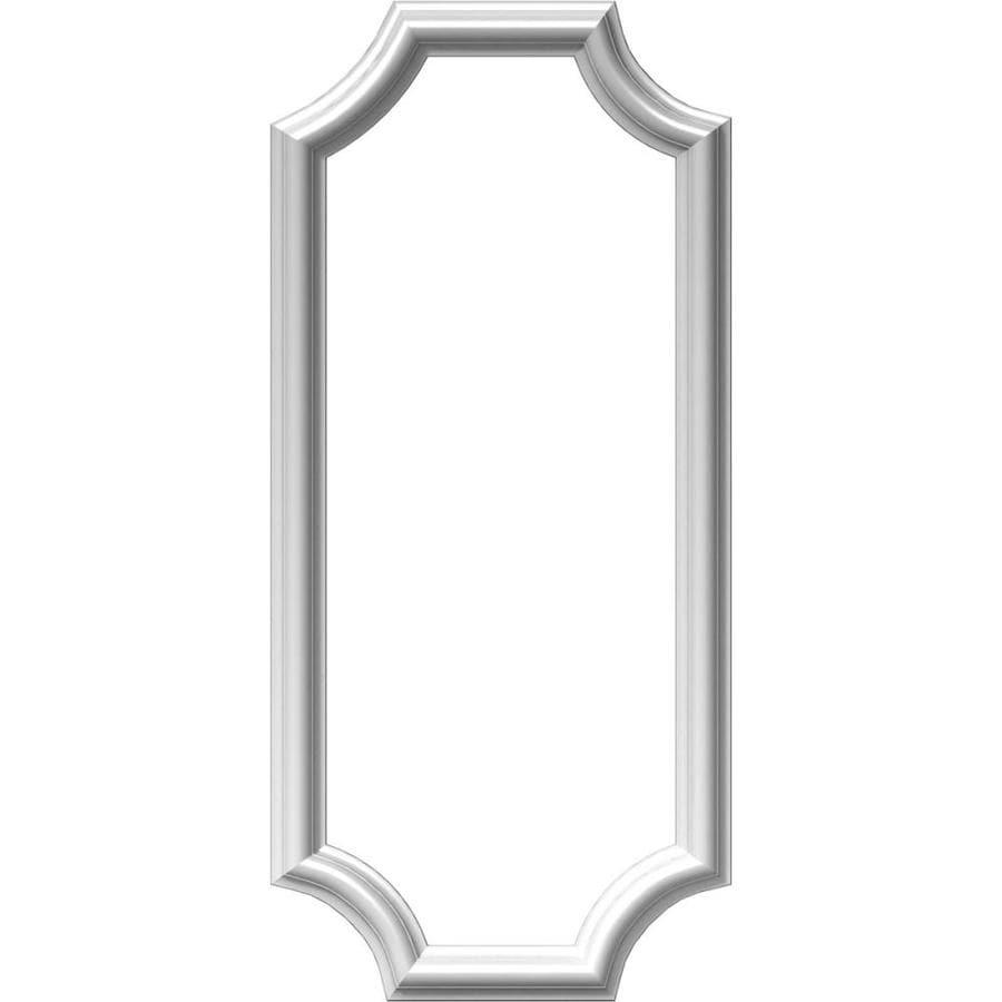 Ekena Millwork Ashford 12-in x 2.33-ft Polyurethane Preassembled Picture Frame Moulding