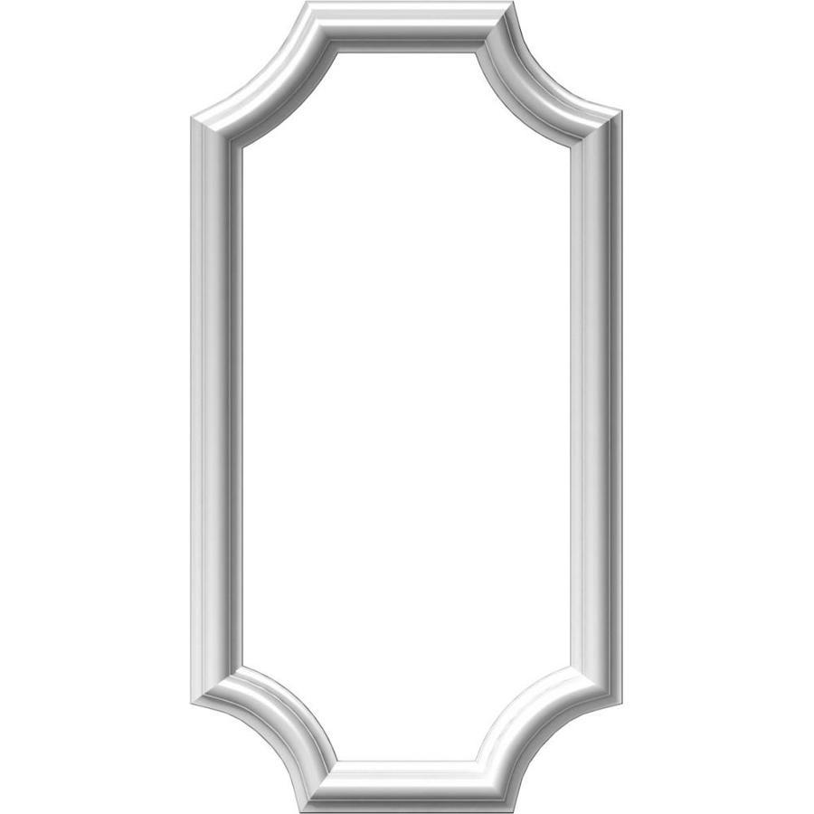 Ekena Millwork Ashford 12-in x 2-ft Polyurethane Preassembled Picture Frame Moulding