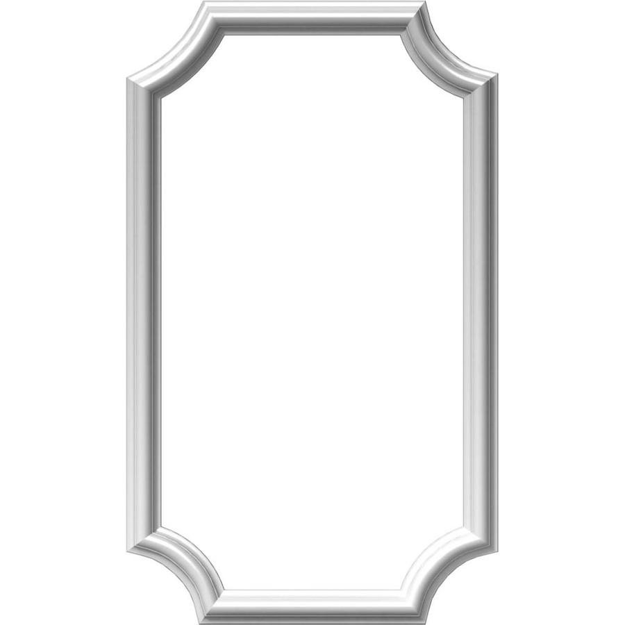 Ekena Millwork Ashford 16-in x 2.33-ft Polyurethane Preassembled Picture Frame Moulding