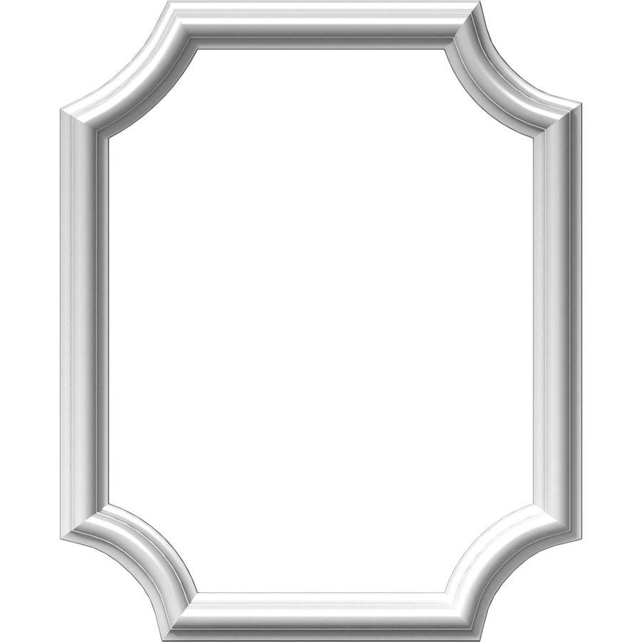 Ekena Millwork Ashford 16-in x 1.67-ft Polyurethane Preassembled Picture Frame Moulding