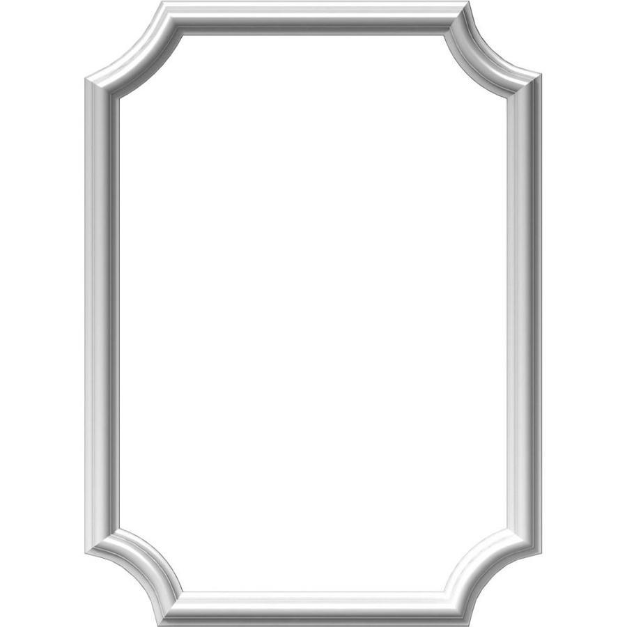 Ekena Millwork Ashford 20-in x 2.33-ft Polyurethane Preassembled Picture Frame Moulding