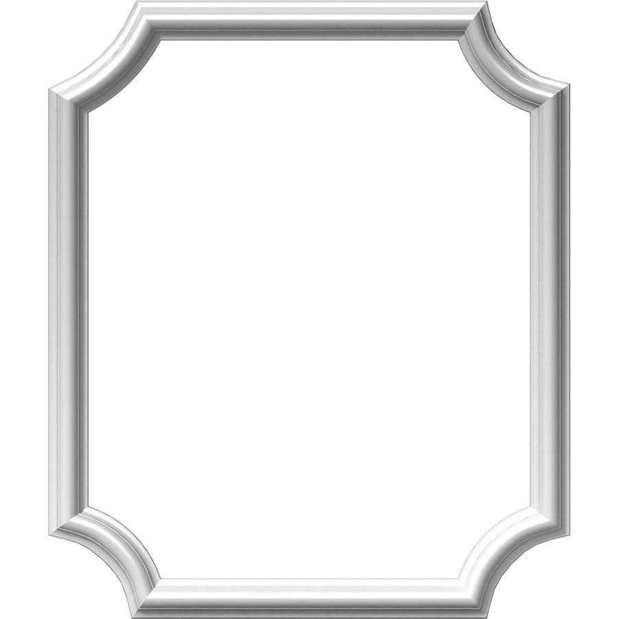 Ekena Millwork Ashford 20-in x 2-ft Polyurethane Preassembled Picture Frame Moulding