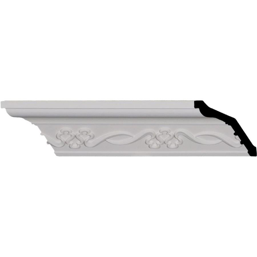 Ekena Millwork 2.5-in x 8.01-ft Polyurethane Miller Crown Moulding