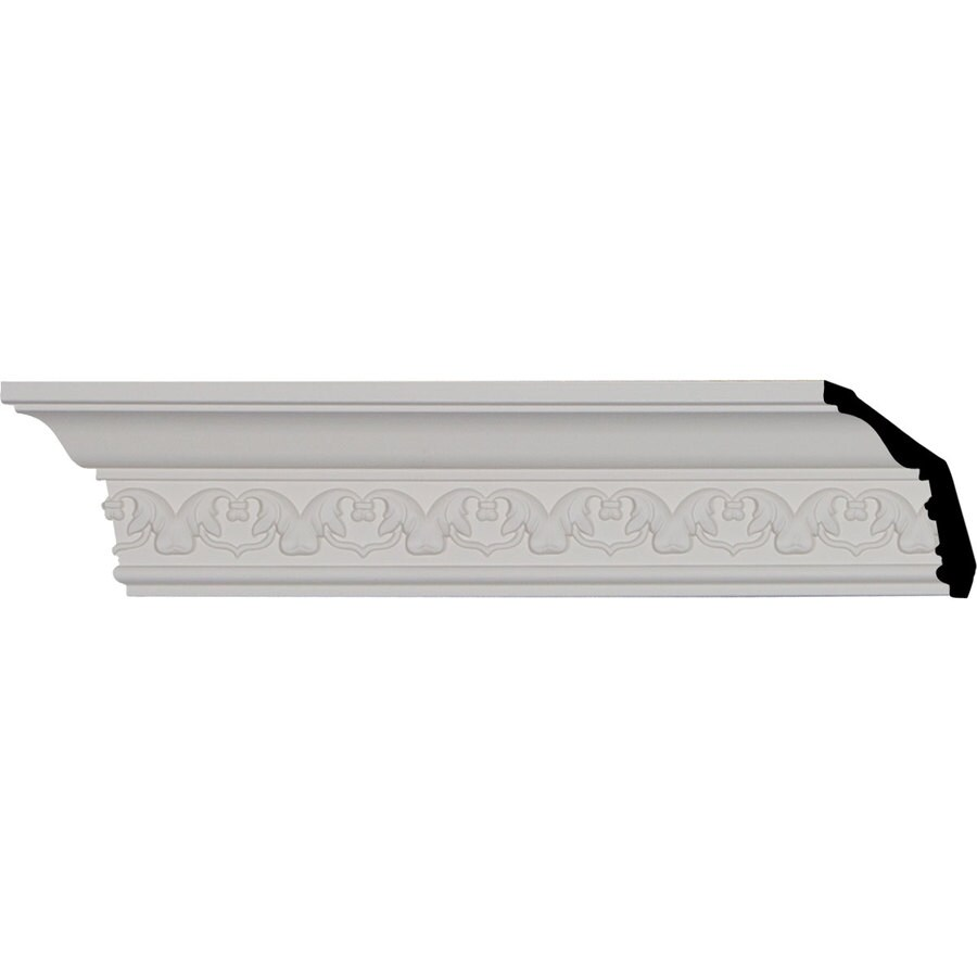 Ekena Millwork 3.125-in x 8.02-ft Polyurethane Irwin Crown Moulding