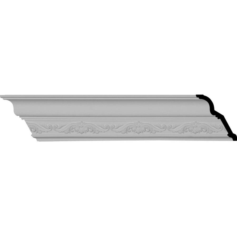 Ekena Millwork 3.5-in x 8.01-ft Polyurethane Dauphine Crown Moulding