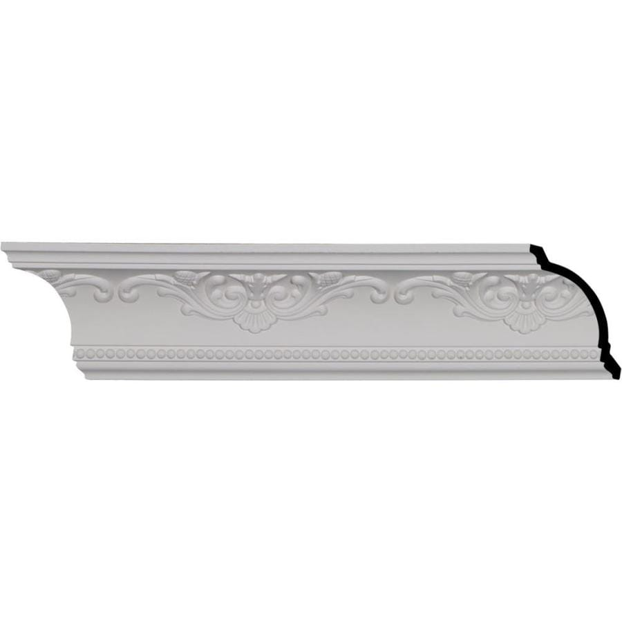 Ekena Millwork 4.375-in x 8.01-ft Polyurethane Versailles Crown Moulding