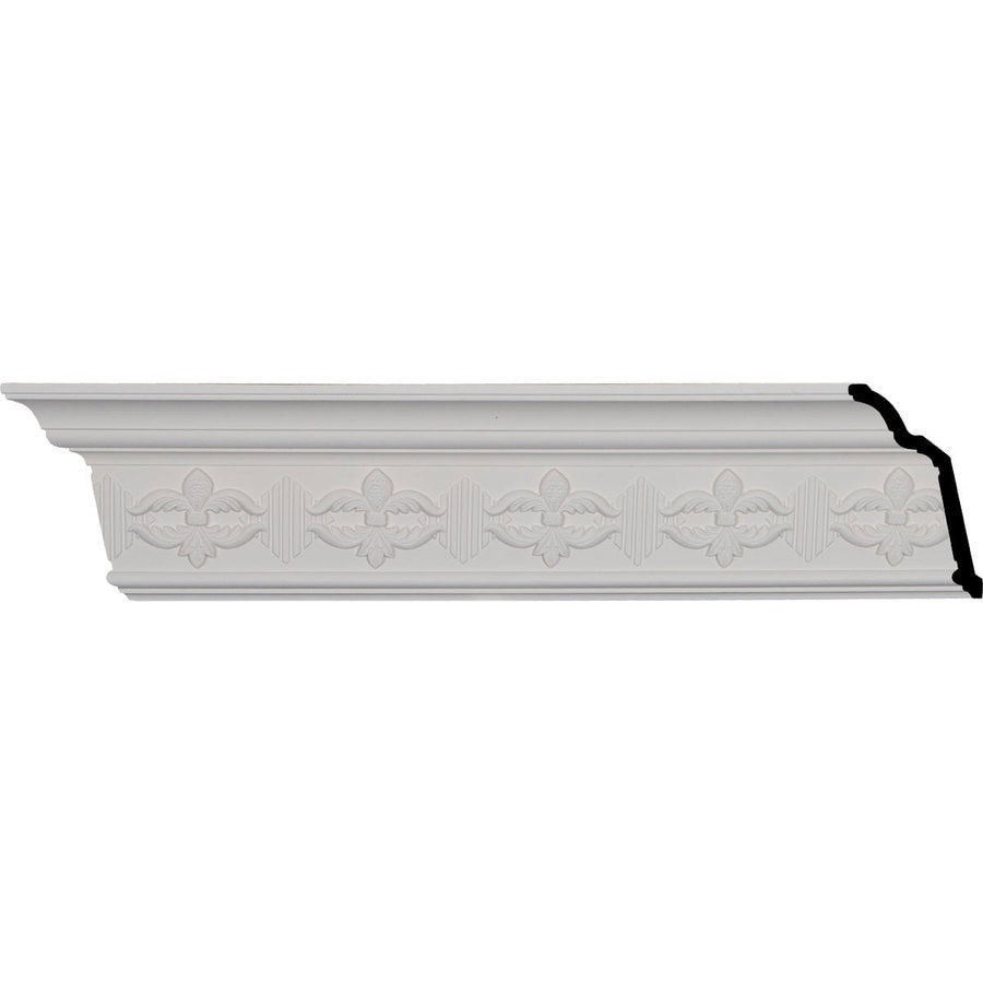 Ekena Millwork 5.125-in x 7.99-ft Polyurethane Victorian Crown Moulding