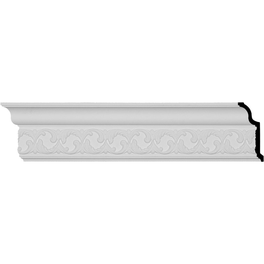 Ekena Millwork 6-in x 7.99-ft Primed Polyurethane Richmond Crown Moulding