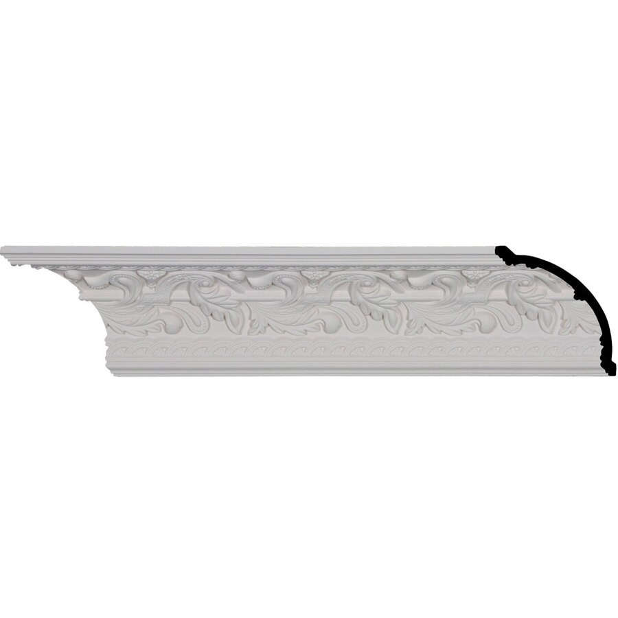 Ekena Millwork 4.75-in x 8.01-ft Polyurethane Kinsley Crown Moulding