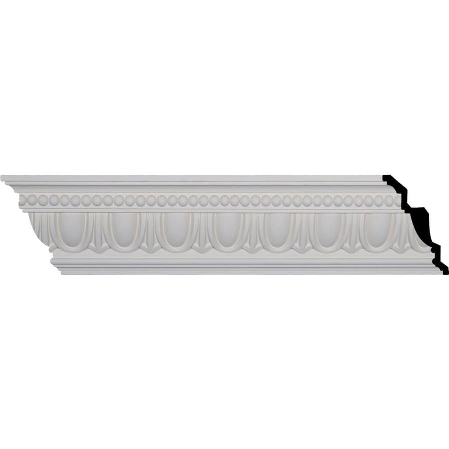 Ekena Millwork 7.25-in x 8.01-ft Polyurethane Egg and Dart Crown Moulding