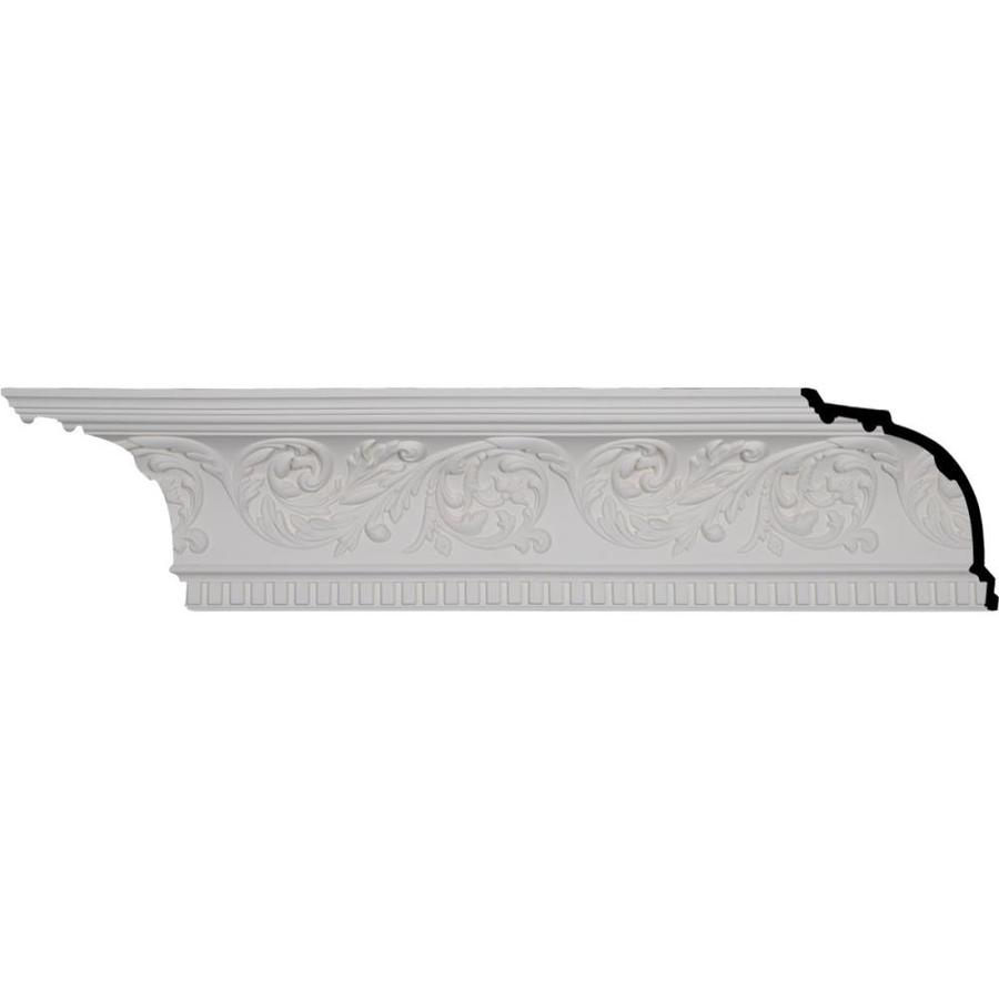 Ekena Millwork 8.625-in x 8.01-ft Polyurethane Harvest Cove Crown Moulding
